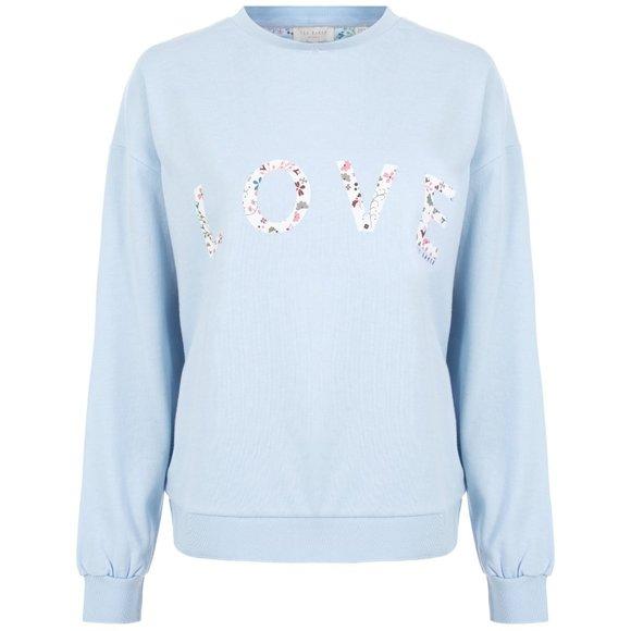 [Ted Baker] love slogan sweatshirt